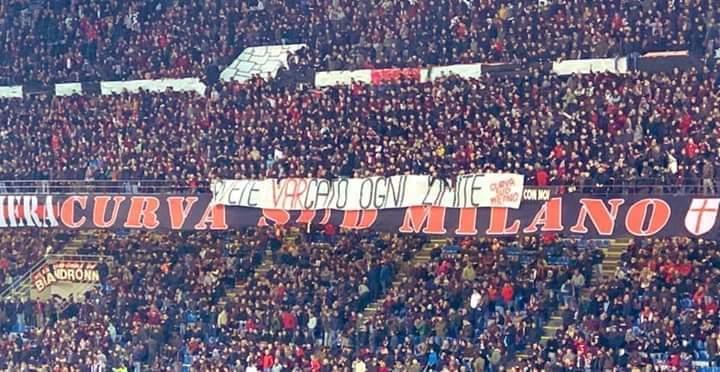 """Protesta della Curva Sud dopo gli episodi di Juve-Milan. """"Avete VARcato ogni limite""""FOTO"""