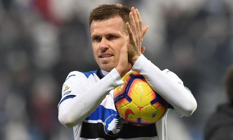 Tanta sfortuna per Josip Ilicic che perde la sua terza finale di Coppa Italia