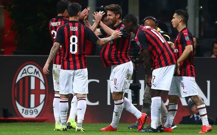 Posticipo, Milan-bologna 2-1. Rossoneri al 5′ posto con piccolo regalo ai viola..