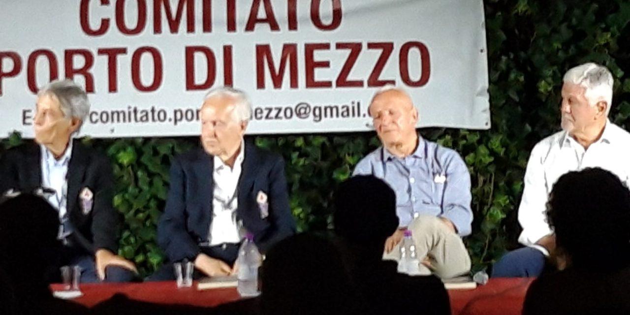 (FOTO): Museo Fiorentina riunito a Ponte di Mezzo per la memoria di Pandolfini. Ecco i presenti