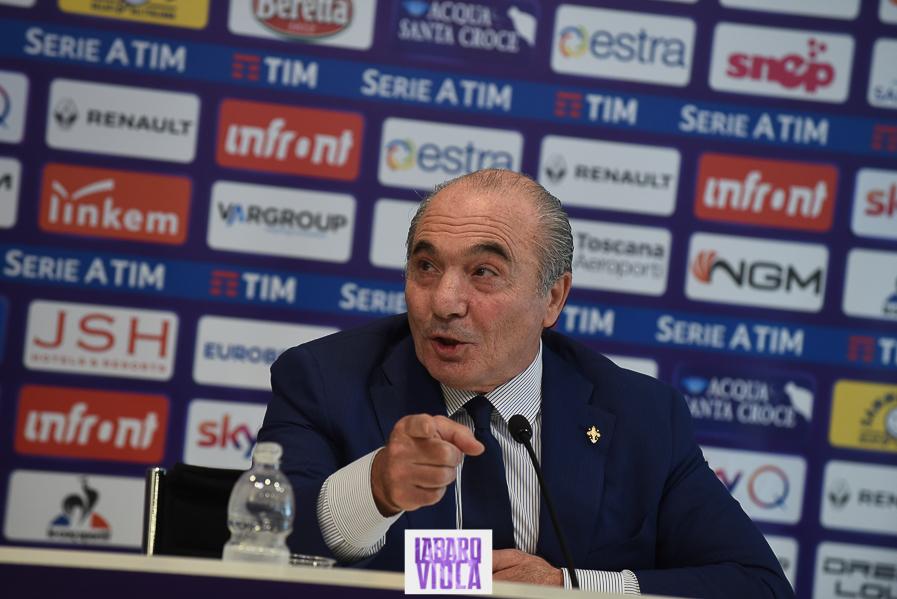 """Commisso: """"Mediacom ok, ma se i fiorentini Gucci o Ferragamo volessero, mettiamo loro sulla maglia della Fiorentina"""""""
