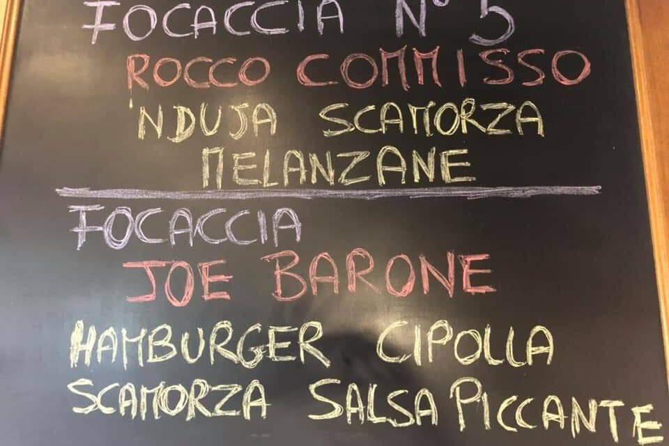 A Firenze è Commisso Mania, nasce la focaccia Commisso e quella con l'hamburger Joe Barone