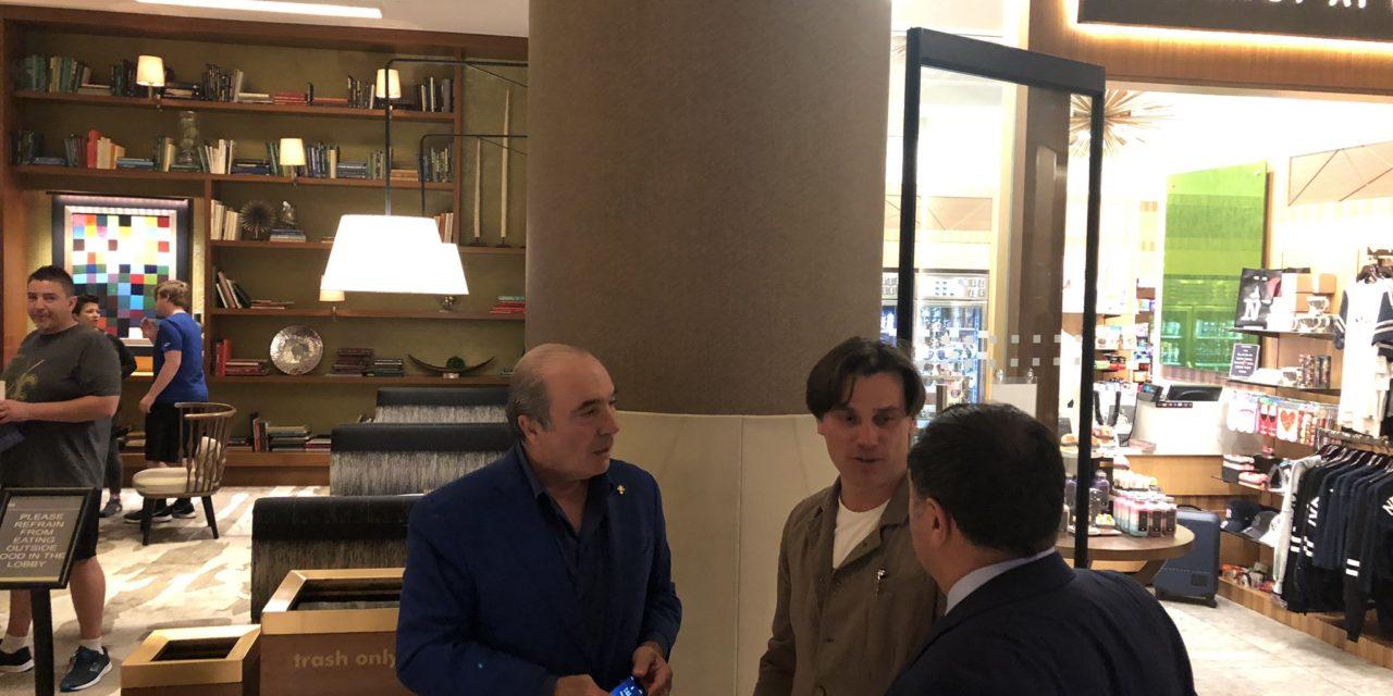 FOTO, Montella, Commisso e Joe Barone a New York, ecco l'incontro tra allenatore e proprietà viola