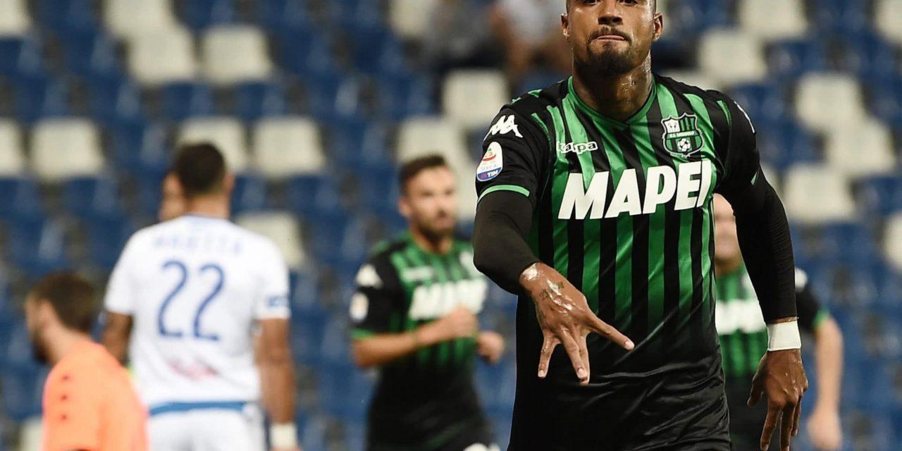 Sassuolo, Boateng pronto a partire per Firenze. Lirola lavora con la squadra