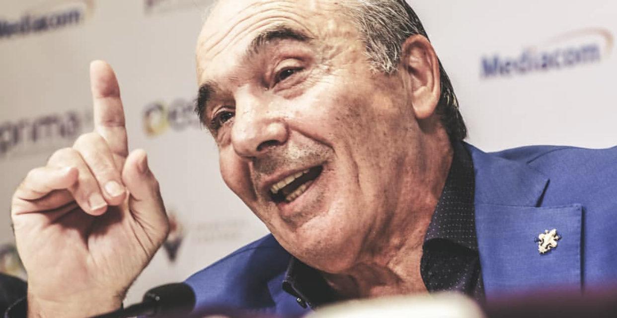 Fiorentina-Lazio, le lacrime di Commisso: