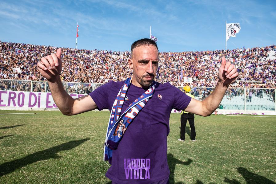 """Ribery: """"Quando vinciamo Firenze è felice, se perdiamo piangono tutti. Il Bayern? Lo tiferò sempre"""""""