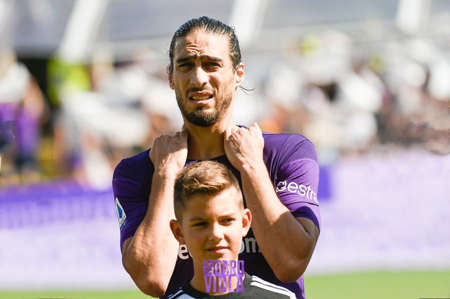 La Fiorentina ha deciso sul futuro di Caceres. Sarà esercitata l'opzione sul contratto