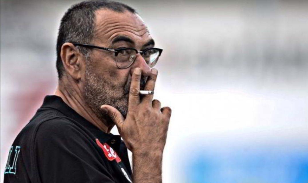 Juventus, Sarri torna a condurre l'allenamento dei bianconeri