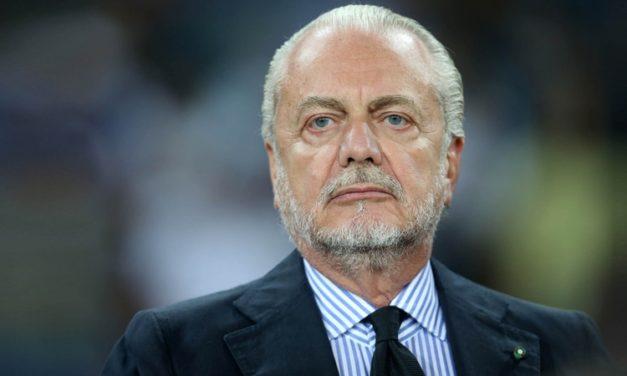 """De Laurentiis: """"Tonali? No, mi piace un centrocampista della Fiorentina ma adesso non ci serve più"""""""