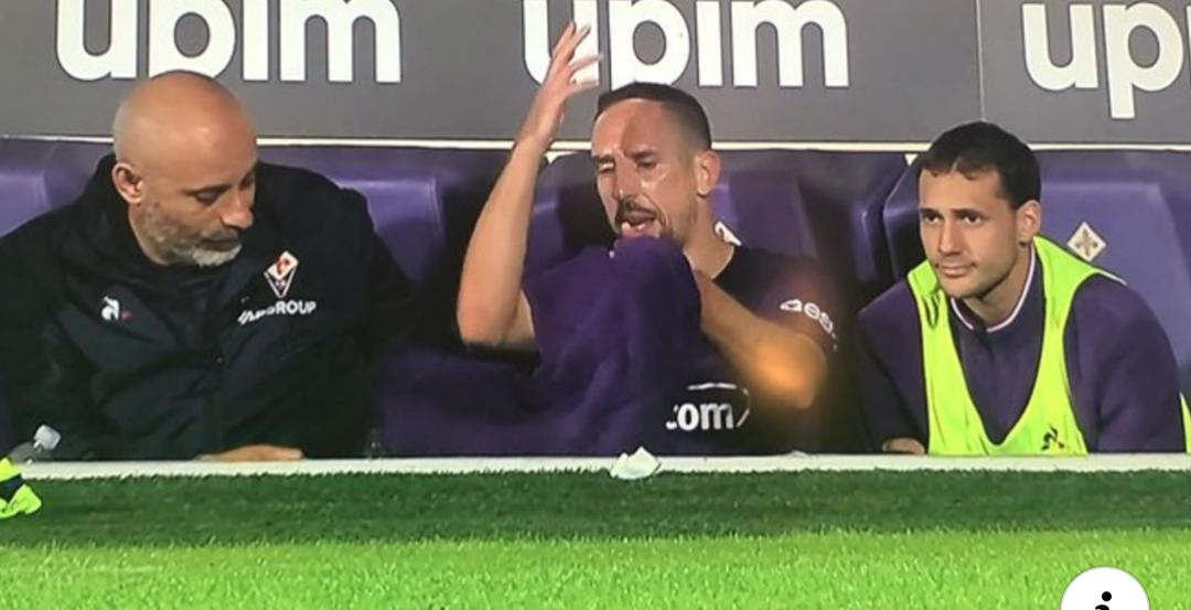 Il nervosismo di Ribery nasce dal suo cambio horror di Montella. Ha sulla coscienza la sconfitta contro la Lazio