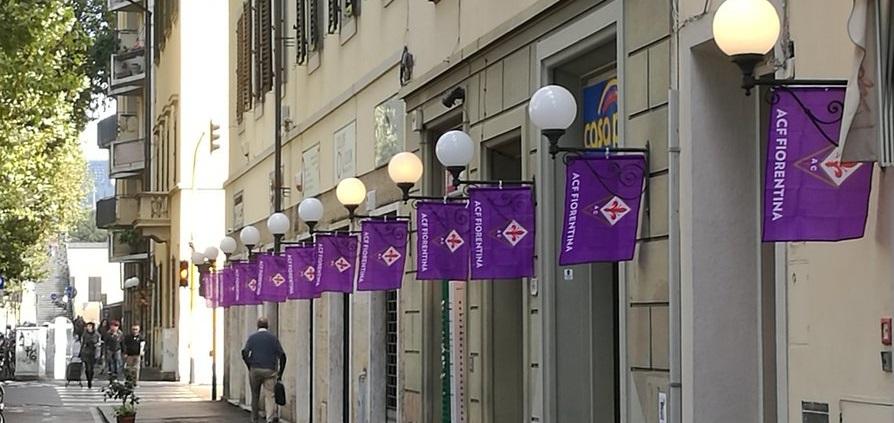 (FOTO) Arrivando alla stazione di Campo di Marte pensi che la Fiorentina abbia vinto lo scudetto