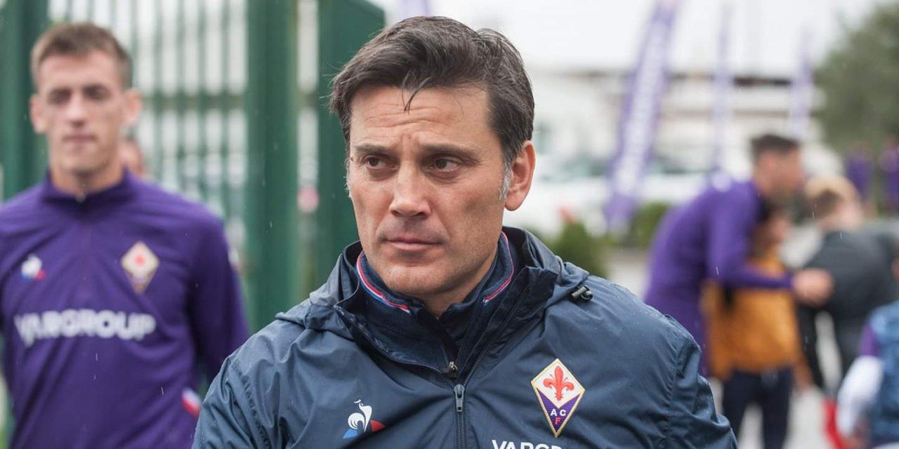 """Montella: """"Cagliari più forte oggi, difesa lasciata sola, finalmente Vlahovic"""""""
