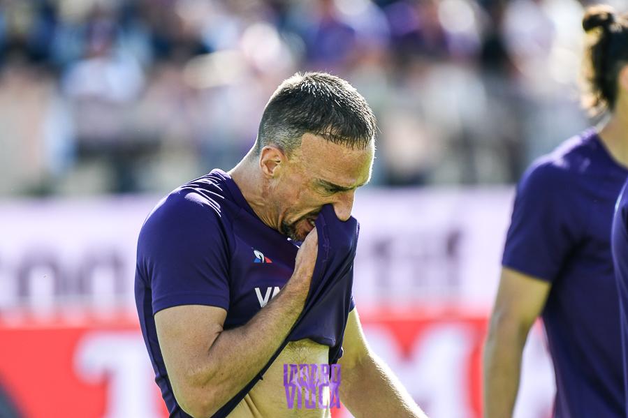 Sospiro di sollievo per Ribery, cercherà di essere in campo nella sfida con la Roma