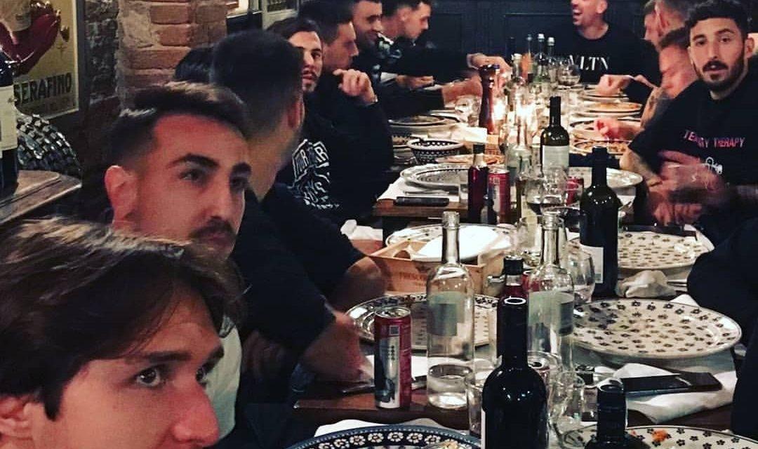 Cena a base di rigatoni e bistecca, paga Dalbert con Ribery che fa lo show. Il motivo del penio…