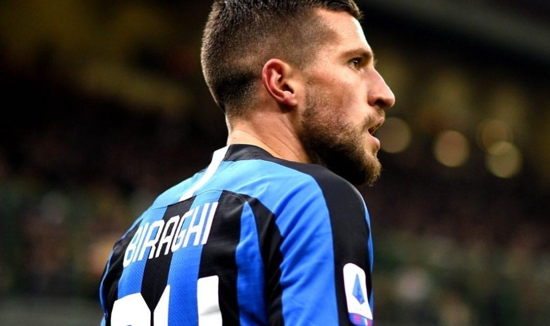 """Biraghi: """"Firenze è un campo difficile ma siamo l'Inter, dobbiamo vincere"""""""