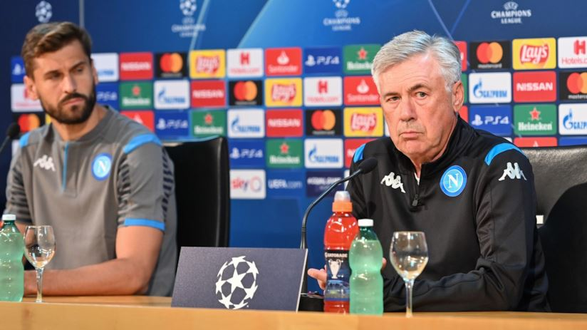 Clamoroso a Napoli, la squadra decide di non tornare in ritiro, Ancelotti diserta intervista post partita