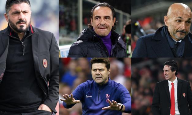 Da Gattuso a Spalletti, fino a Prandelli e Pochettino, ecco tutti i nomi per la panchina viola