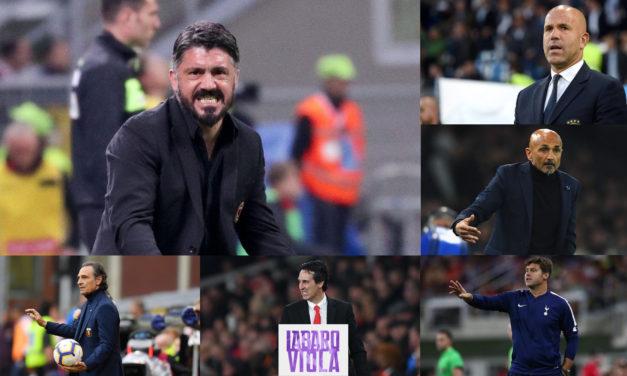 Da Gattuso a Spalletti passando per Emery e Pochettino, tra sogni e realtà i nomi disponibili per la panchina