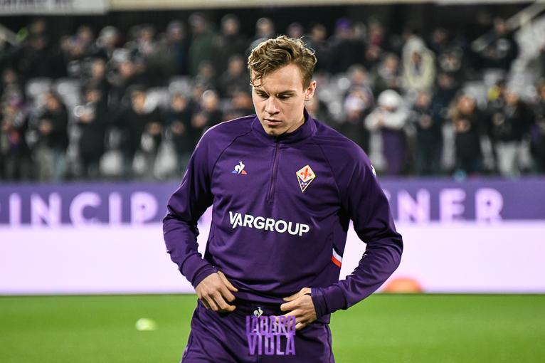Il centrocampista viola Zurkowski potrebbe trasferirsi in prestito all'Empoli in Serie B