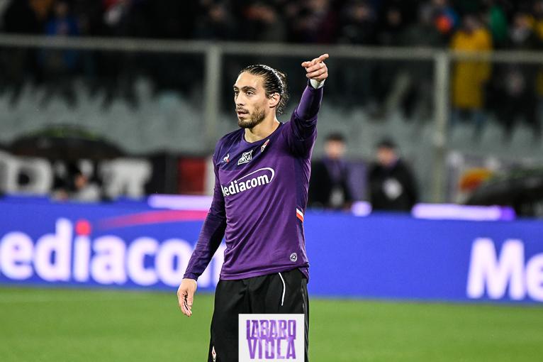 Caceres in dubbio per un posto da titolare in Fiorentina-Atalanta, la sua alternativa è Igor