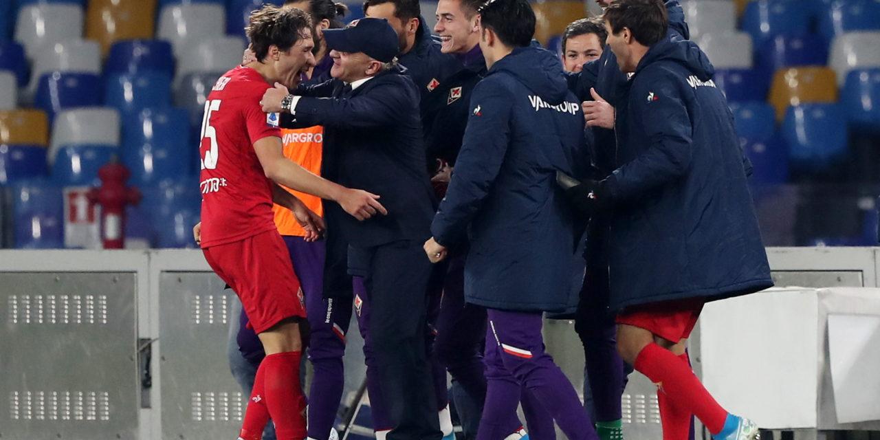 (FOTO) Gli scatti più belli della grandissima vittoria della squadra viola contro il Napoli
