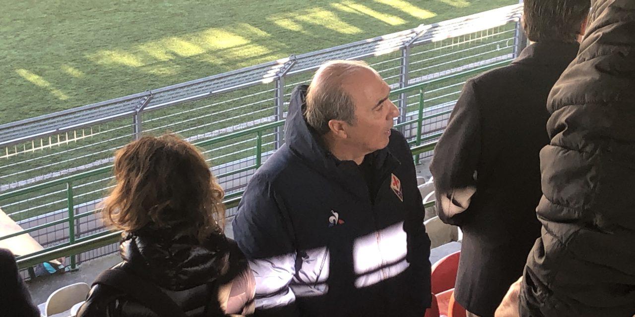 (FOTO): Commisso al Bozzi per la Primavera con Barone ed Antognoni