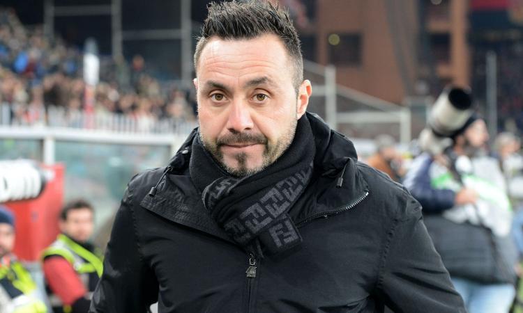 """Rigore inesistente per il Genoa, De Zerbi non ci sta: """"Scandaloso, immagine simulazione chiara"""""""