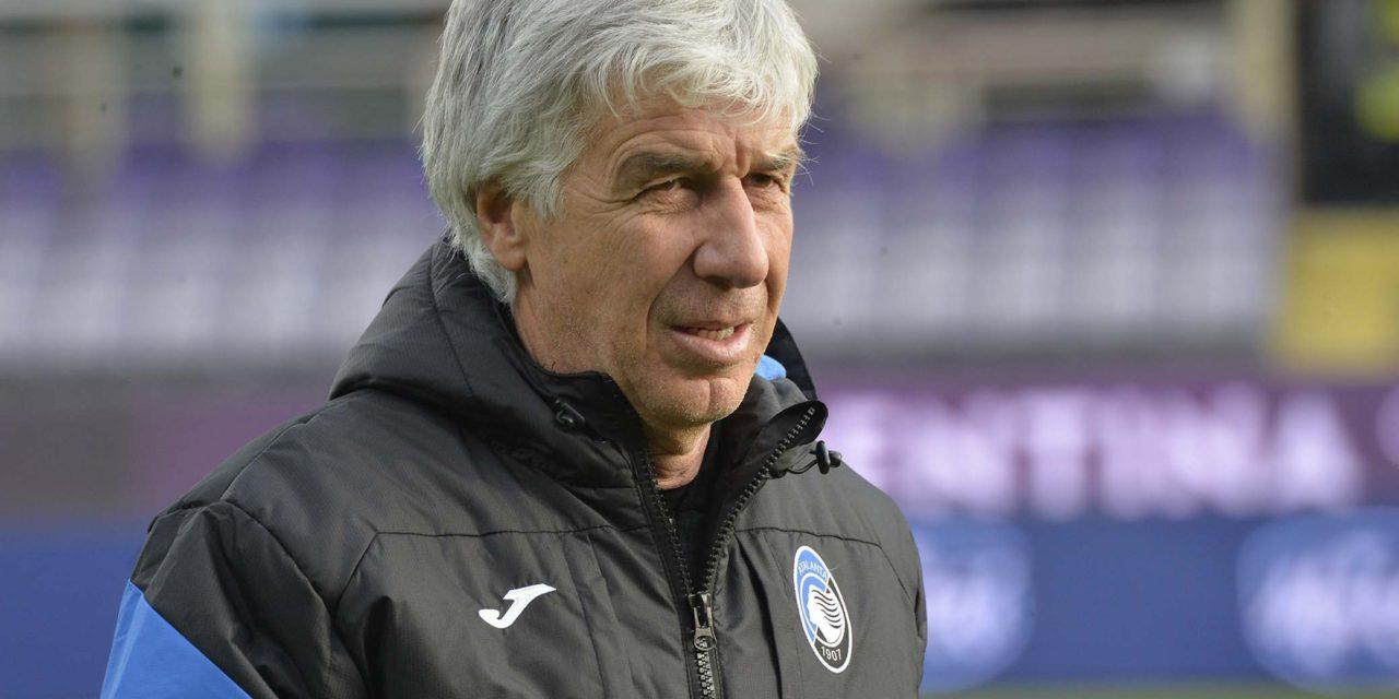 """Gasperini: """"Vincere a Firenze non deve essere un'ossessione. Non bisogna lamentarsi degli arbitri delle partite precedenti"""""""