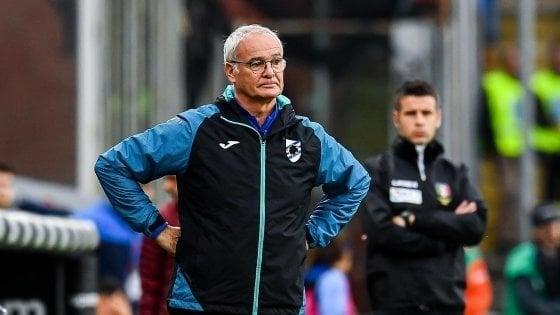 """Ranieri: """"Iachini è stato un mio soldato. Commisso? Mi piace molto. Chiesa? Può decidere sempre la gara"""""""