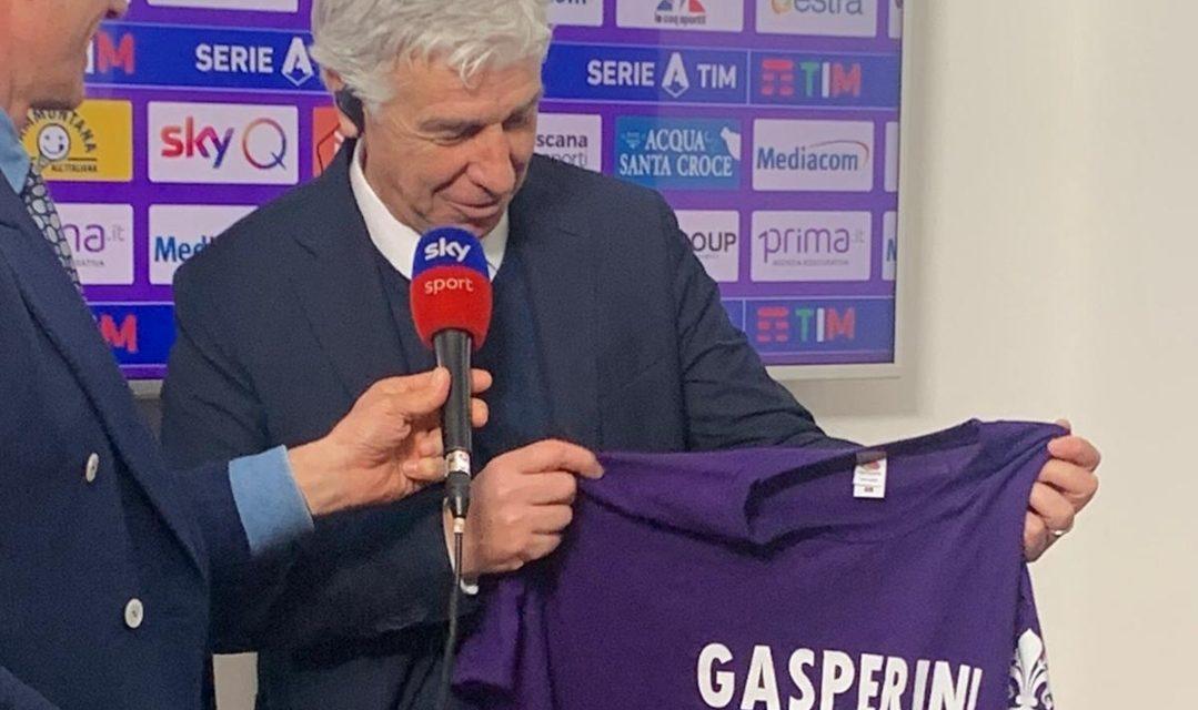 """Gasperini e la maglietta viola: """"Non l'avevo vista, è stata una bella presa in giro"""""""