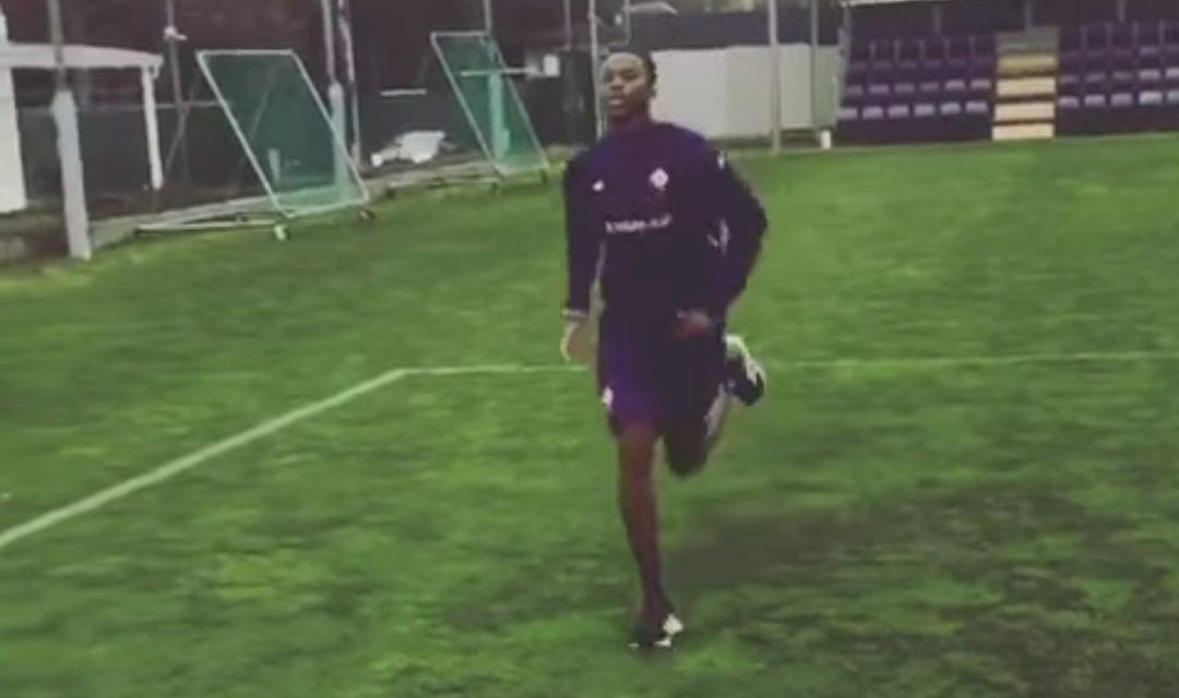 VIDEO, Kouamè tornato a correre al centro sportivo viola. Il suo recupero continua