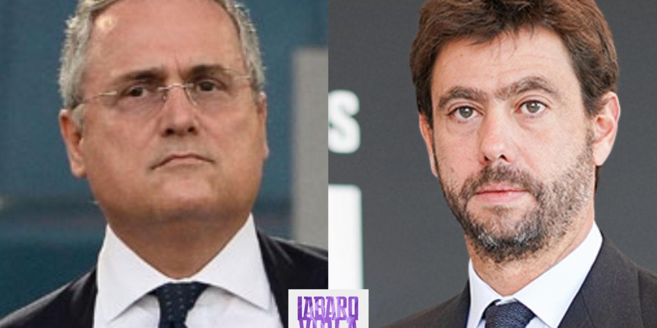 Scontro Lotito-Agnelli in Lega: botta e risposta con battute da commedia