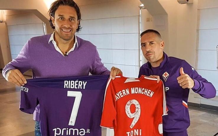 """Toni: """"A Firenze la mia consacrazione. Ribery? L'ho convinto io a scegliere la Fiorentina"""""""