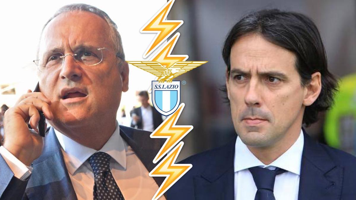 Da Roma, scontro tra Lotito e Inzaghi, il presidente della Lazio ha dato  ultimatum al tecnico
