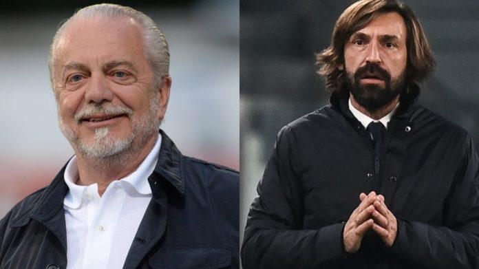 De Laurentiis contro Pirlo su Juve-Napoli: